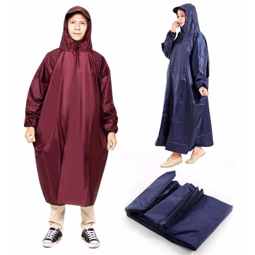 Áo mưa vải dù làm quà tặng